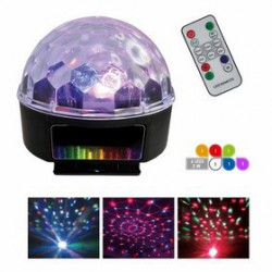 EUROPSONIC LED GHOST BALL/3 sphere multicolor a LEDS