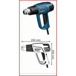 BOSCH 0.601.944.703 GHG 660 LCD decapeur thermique 2.300W