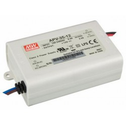 VELLEMAN APV-35-12 constant voltage driver LED single output 12V 35W