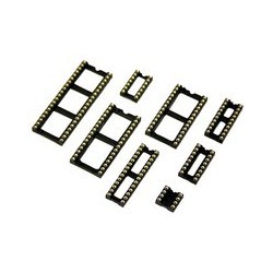 Support circuit intégré tulipe 40 broches