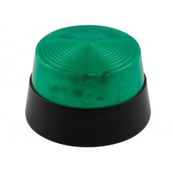 VELLEMAN HAA40GN FLASH STROBOSCOPIQUE À LED - VERT - 12 VCC - ø 77 mm