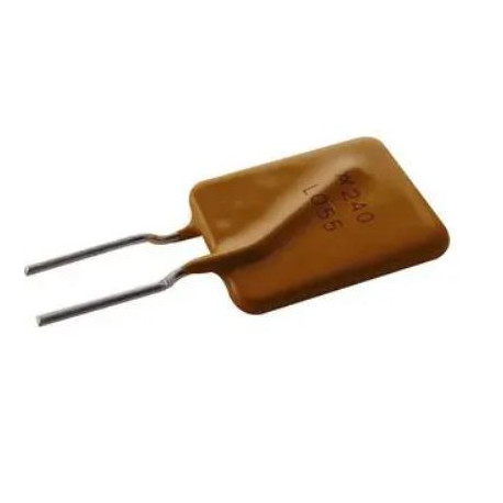1.25A, 0.55A 240V c.c. Polyswitch, fusible réarmable, Littelfuse, Sortie Radiale LVR055K