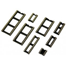 Support Circuit intégré tulipe 24 broches 7.62mm