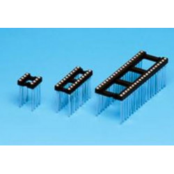 Support Circuit intégré tulipe  a WRAPPER 16 broches 7.62mm